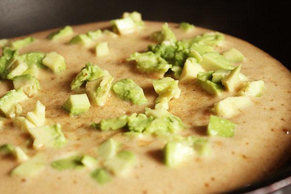 Omlet z awokado