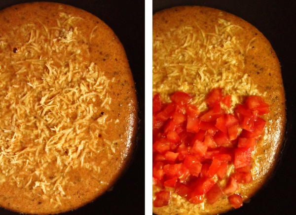 Omlet a'la pizza