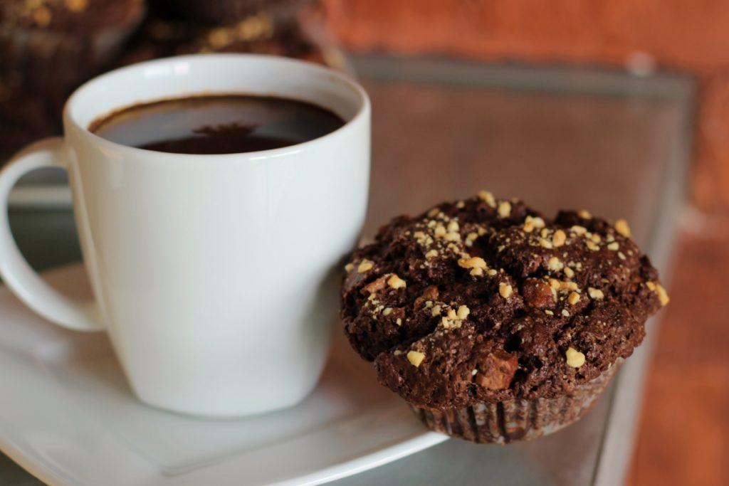 Babeczki czekoladowo - maślane