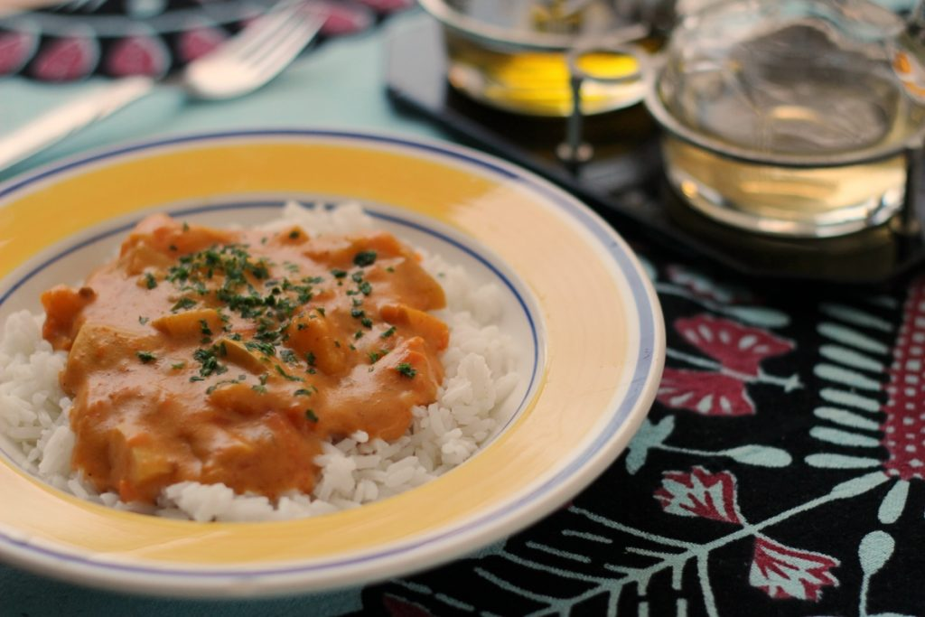 Kremowy sos dyniowy