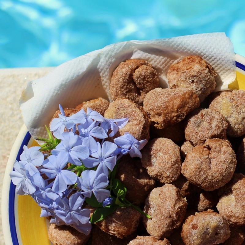 Ciambelle al Vino czyli wegańskie winne ciasteczka
