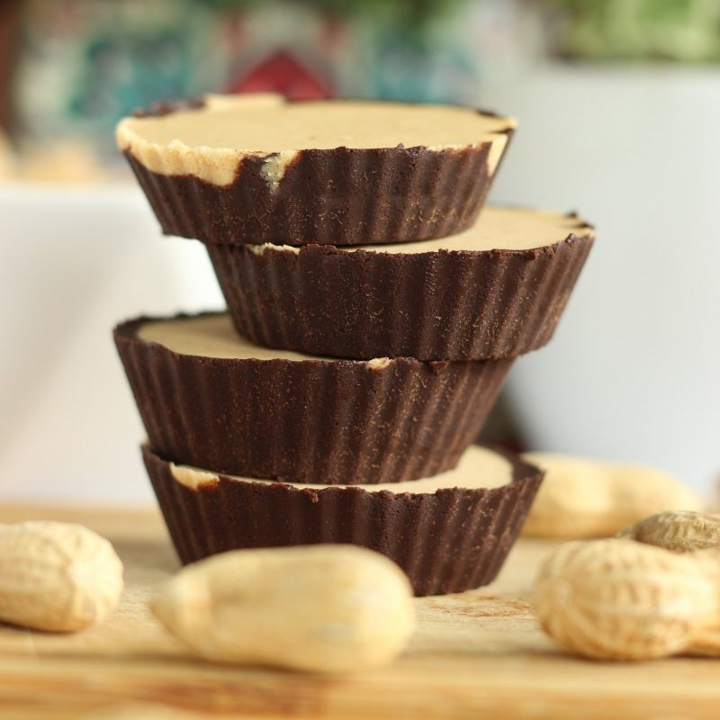 Bomby tłuszczowe czekoladowo-orzechowe