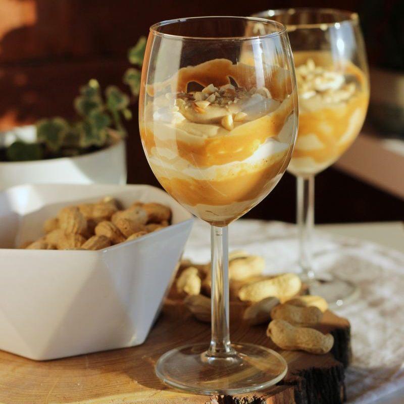 Orzechowy deser śmietankowy (keto)