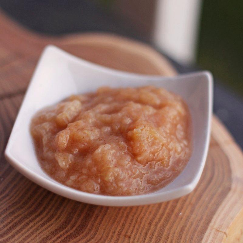 Mus jabłkowy, czyli zasmażane jabłka (wegańskie, low carb)
