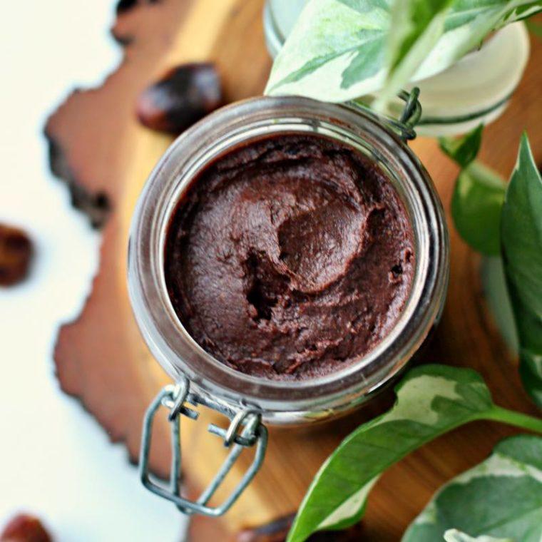 Krem daktylowo-czekoladowy bez dodatku cukru (wegański)