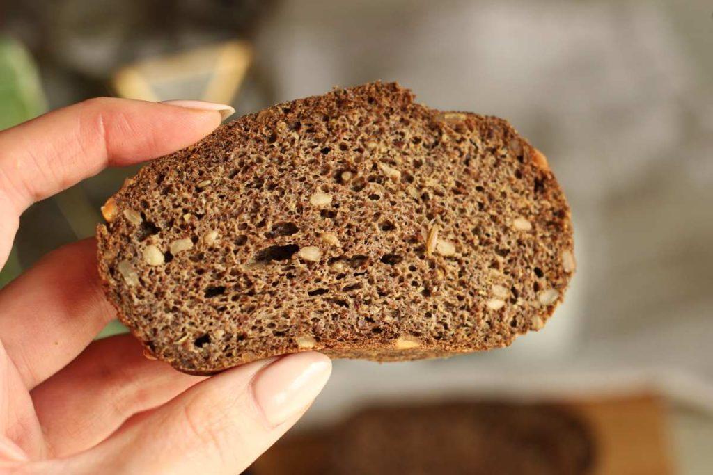 Keto chleb z siemieniem lnianym