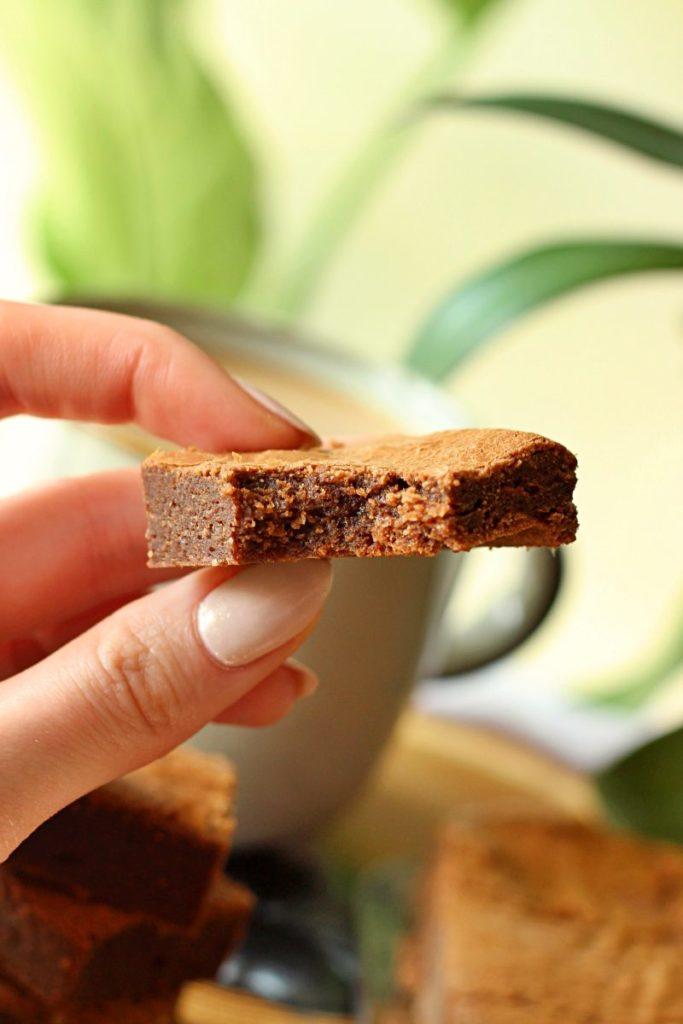 Ugryzione keto brownie