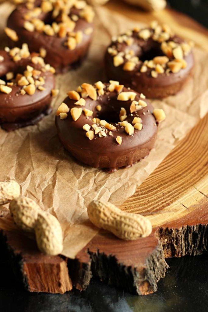 Keto donuty czekoladowe