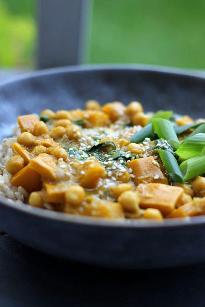 Curry z cukinią