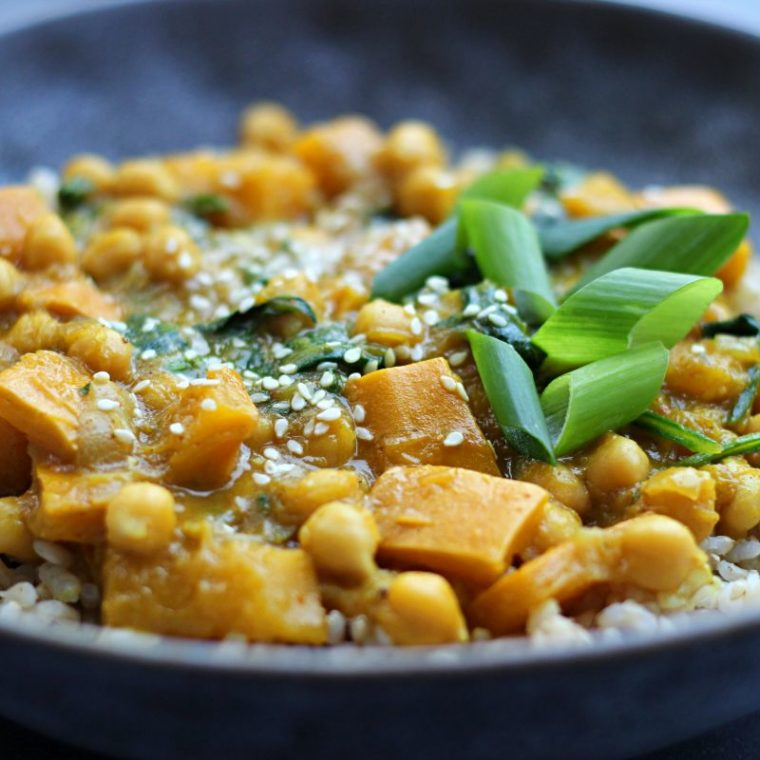 Curry z cukinią (wegańskie)